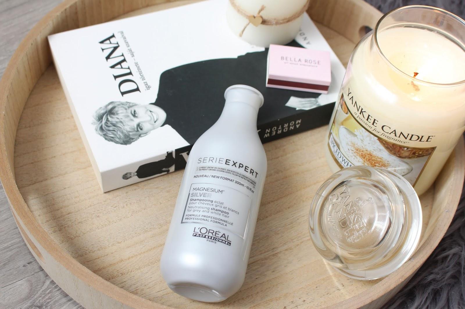 L'Oréal Professionnel Serie Expert Silver odtraňuje žlté vlasy, tóny - recenzia