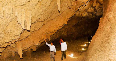 Djara cave is considered a natural