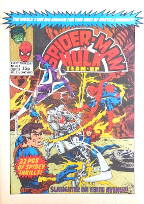 Spider-Man and Hulk Team-Up #444
