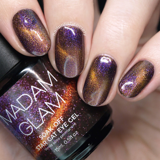 Nail Polish Society: Madam Glam Cat Eye Gel Polish + More