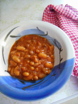 Beans, bacon and beer, Guinness Baked Beans.