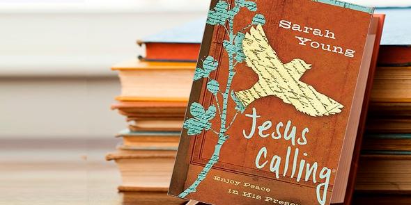 portada del libro Jesús Te Llama o Jesus Calling de la autora Sarah Young