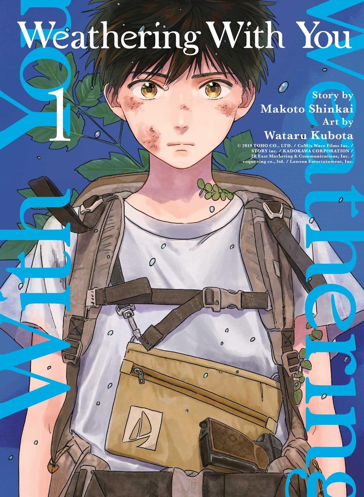 Manga Adaptasi Tenki no Ko Akan Tamat Pada Volume Ke-3