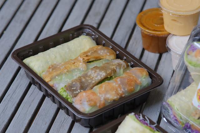 Salad Sayur Gulung, Sajian Kudapan Halal dan Sehat ala Dapoer Mamatiti