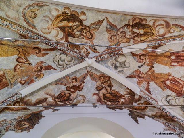 Pinturas murais na Igreja de São Tiago, Centro de Interpretação do Castelo de Montemor-o-Novo