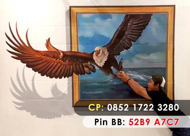 Lukisan 3D Binatang