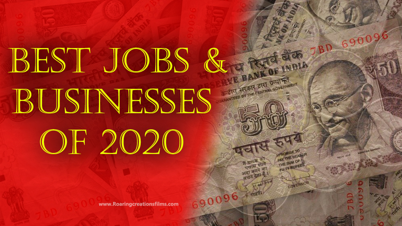 Best Jobs and Businesses of 2020 - Business Lessons in English