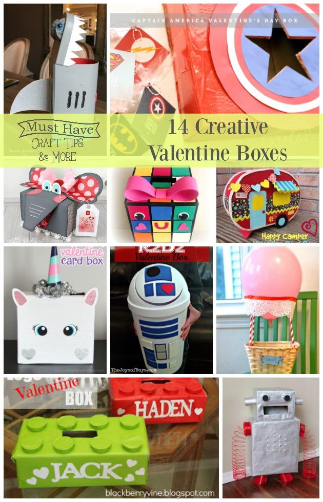 14 Creative Valentine Boxes