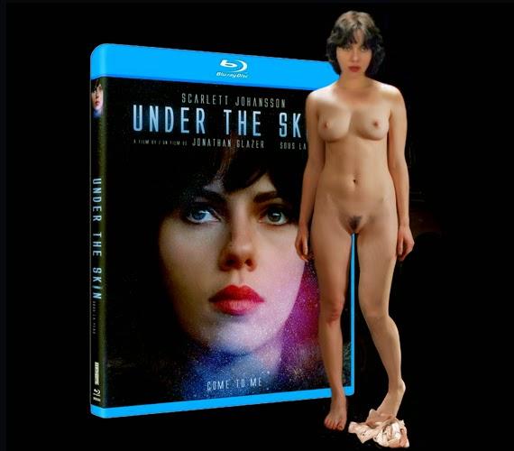 Scarlett johansson under the skin topless