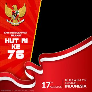 twibbon ucapan selamat hut ri ke 76 dirgahayu indonesia - kanalmu