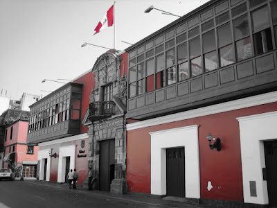 House of Pilates, Historical Center, Colonial Houses Lima