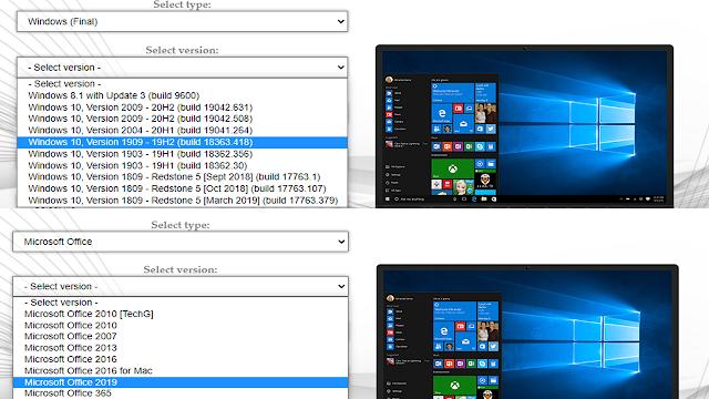 تحميل جميع نسخ الويندوز Windows و أوفيس office كاملة