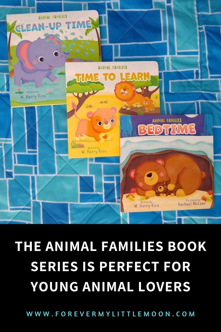 The Animal Families Book Series is Perfect for Young Animal