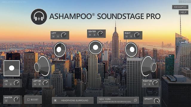 Screenshot Ashampoo Soundstage Pro 1.0.2 Full Version