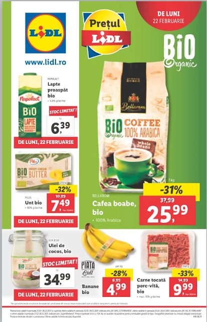 LIDL catalog brosura  22-28.02 2021