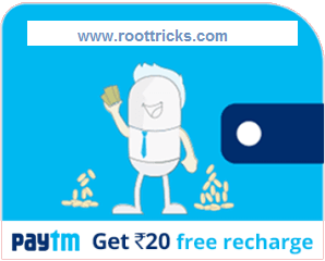 Paytm Loot: Get Free 20rs Recharge Trick For Old & New User + Unlimited Trick
