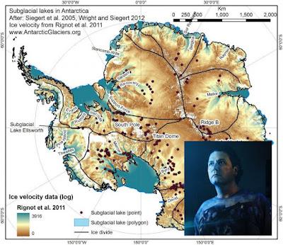 Antártida: ENDGAME II – EL JUEGO FINAL (II): LA ATLÁNTIDA DE LA ANTÁRTIDA Y LAS ANTIGUAS RUINAS ET´