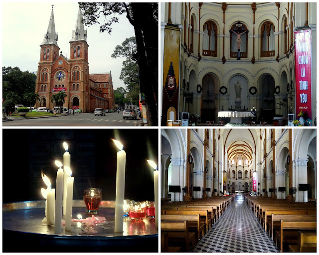 Notre Dame Cathedral in Ho Chi Minh City - Saigon, Vietnam