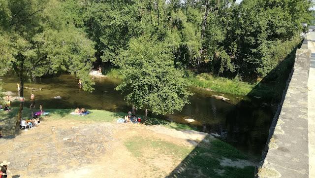 Zona fluvial da Loureira