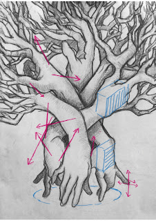 anatomie, anatomie hand, andrew loomis, boom tekenen, George Bridgeman, handen leren tekenen, handen tekenen,