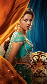 Princess Jasmine & Tiger Mobile HD Wallpaper