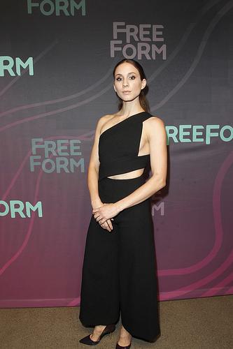 PLL actress Troian Bellisario (Spencer) at Freeform 2016 Upfront