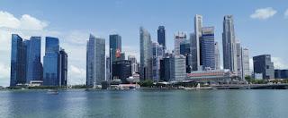 Bahía de Singapur.
