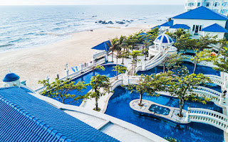 Nét cổ kính tại Lan Rừng Phước Hải resort