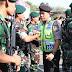 Apel Konsolidasi Pasukan PAM Pungut Suara Dipimpin Langsung Kapolres Mojokerto