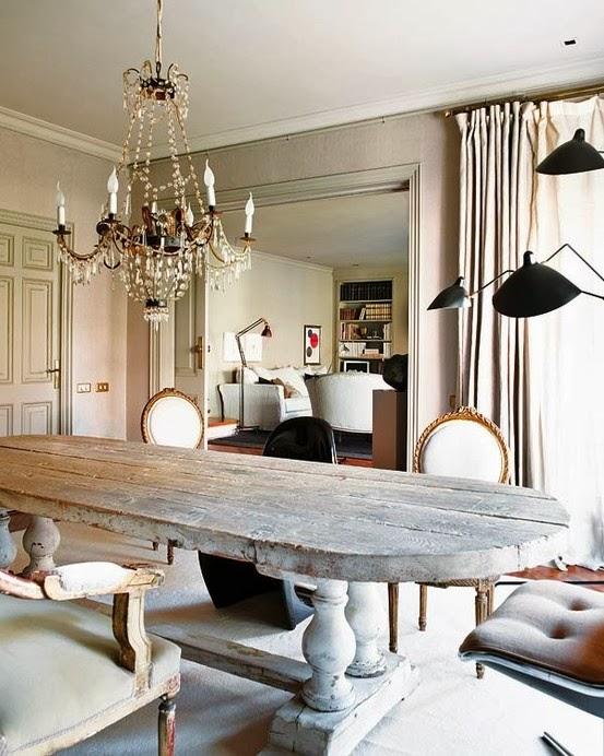 Maison Decor Tin Ceilings: Maison Decor: Rough Luxe Style