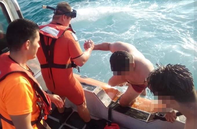 CABO SAN LUCAS: ¡La Armada rescató!