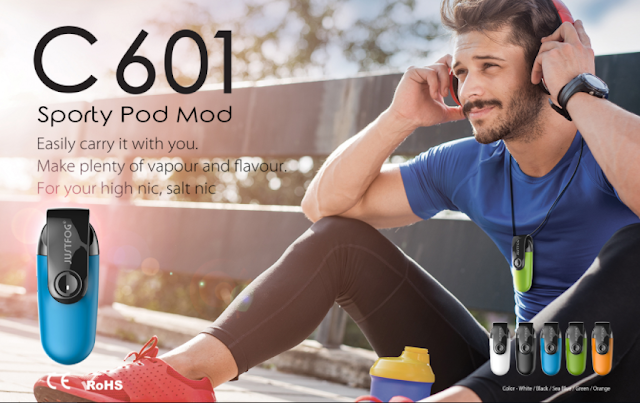 Phycial, Vaping? I Need Both | Justfog C601 Sporty Pod Kit