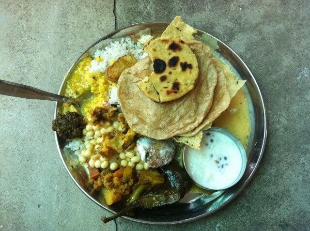 Delicious Ashram Food