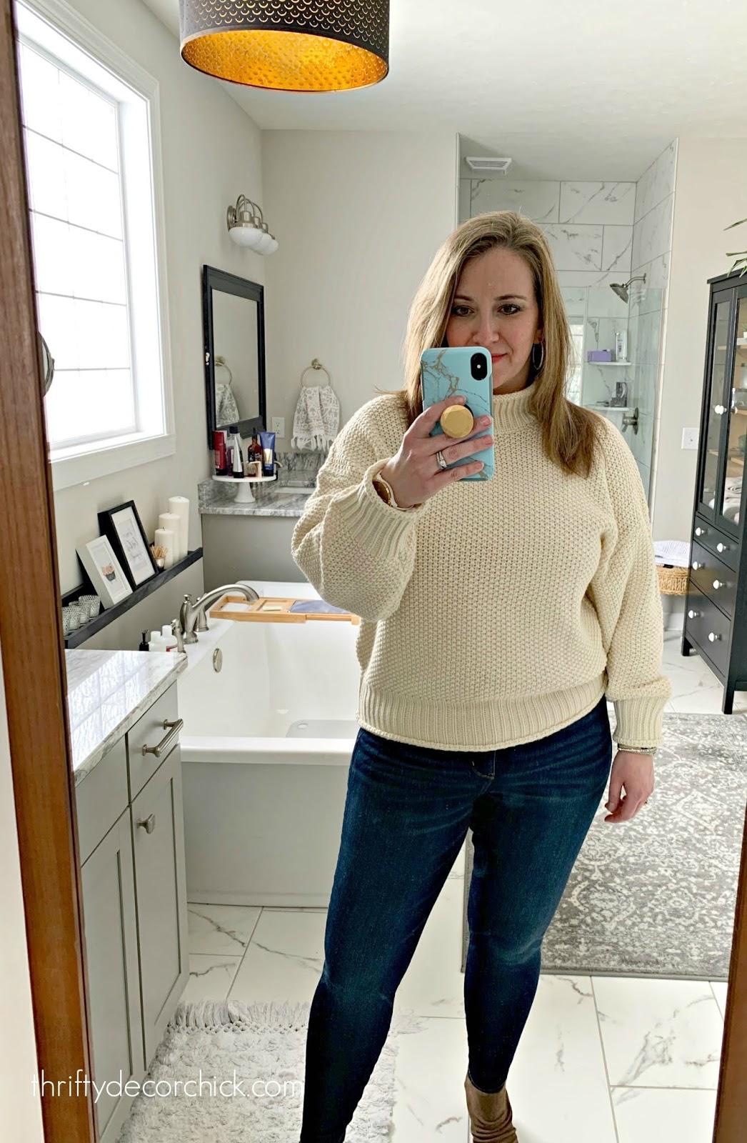 oversized soft sweater Amazon