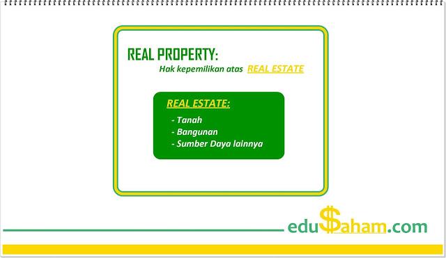 Perbedaan Properti dan Real Estate