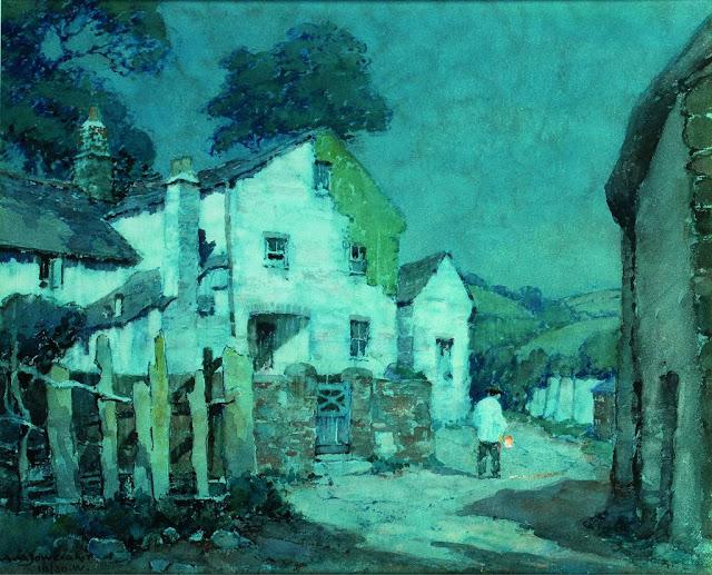 Albert Moulton Foweraker - A Devon Village