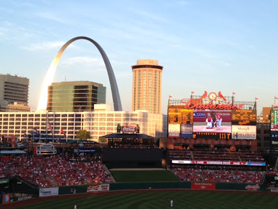 View of the Arch in St. Louis