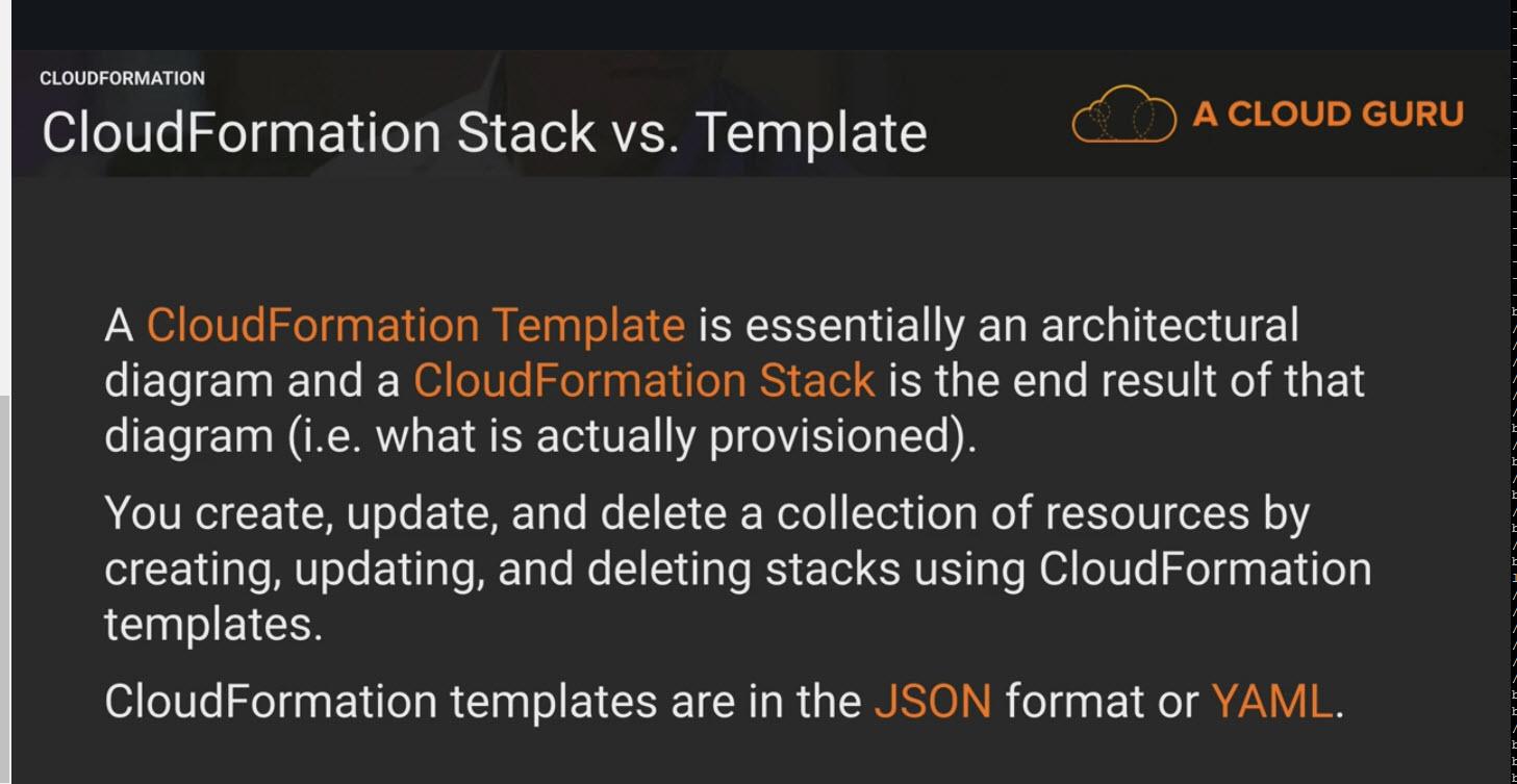 AWS Certified Developer Associate Notes - Cloud Formation | CodingAtWork