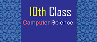 10th Class Computer Science pairing Scheme 2021