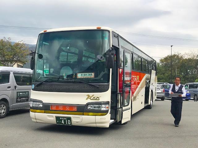 Takaragawa-Onsen-Osenkaku-shuttle-bus