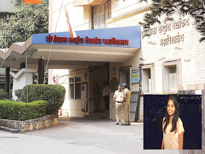 Payal Tadvi (inset) and BYL Nair Hospital