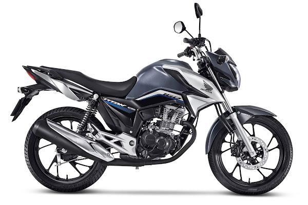 Honda CG 160 2022 - Titan Cinza