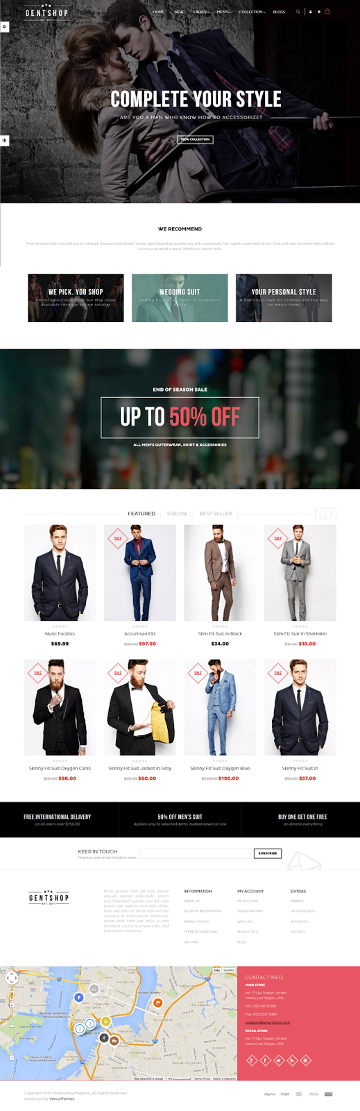 Fashion Store eCommerce Theme