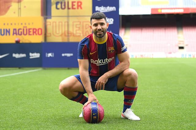 Barcelona signing Sergio Aguero