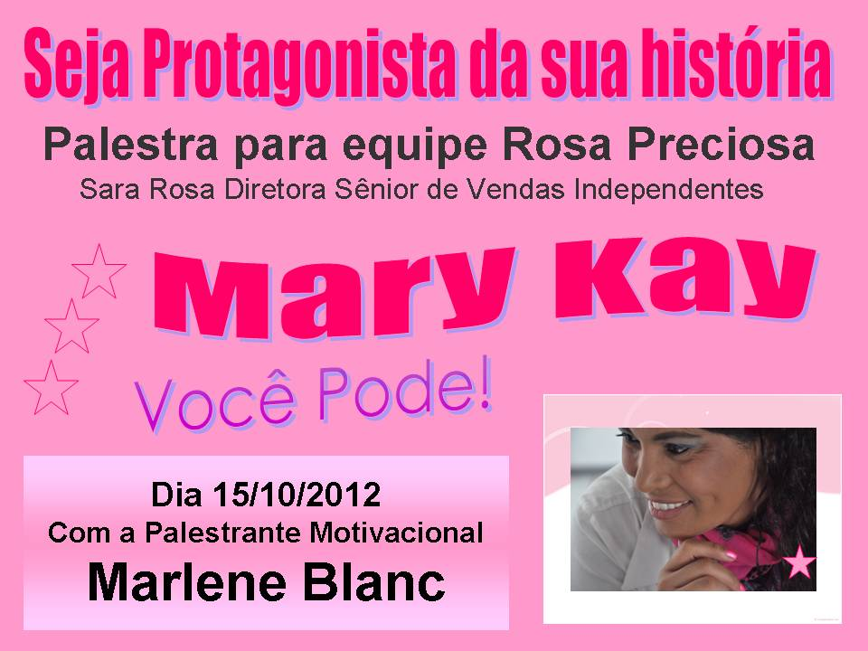Marleneblanc Marlene Blanc é Palestrante Motivacional