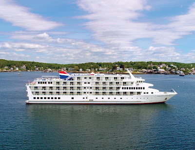 American Cruise Line's Newest Small Ship - American Constitution Successfully Completes Sea Trials.