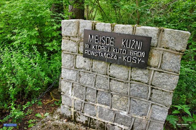 Uroczysko Powstańce - Strękowizna w Puszczy Augustowskiej
