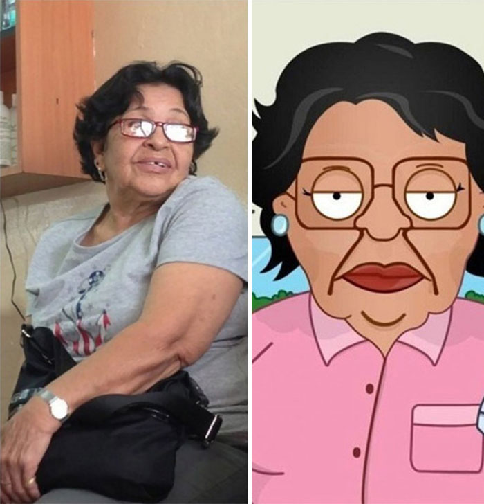 Consuela From Family Guy In Real Life