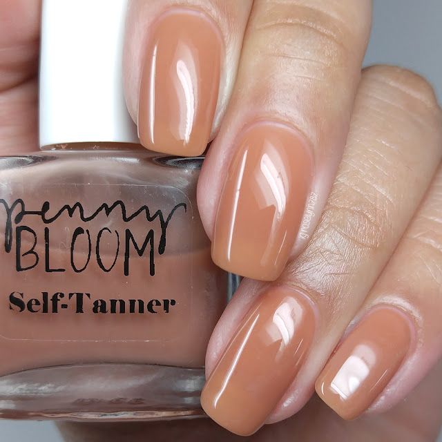 Penny Bloom Nail Polish - Self-Tanner