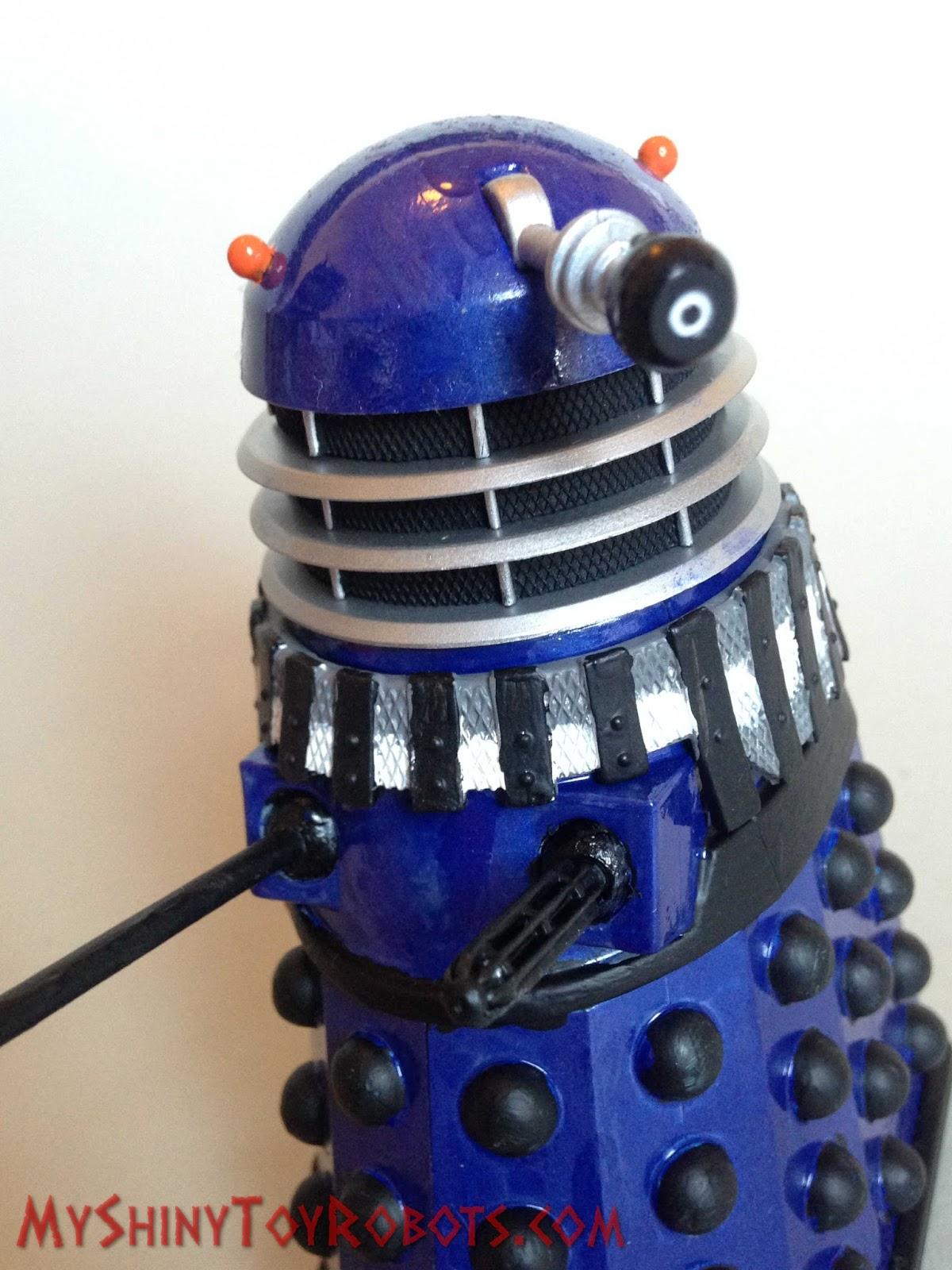 My Shiny Toy Robots Custom Figure Promotional Blue